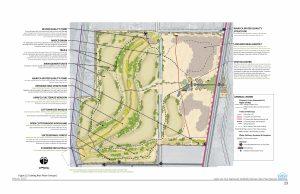 Conceptual Site Plan for Valle de Oro NWR